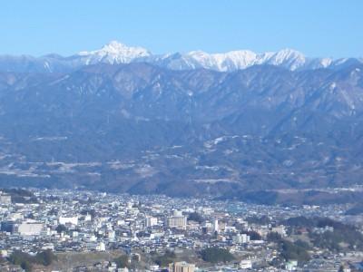 飯田市全景